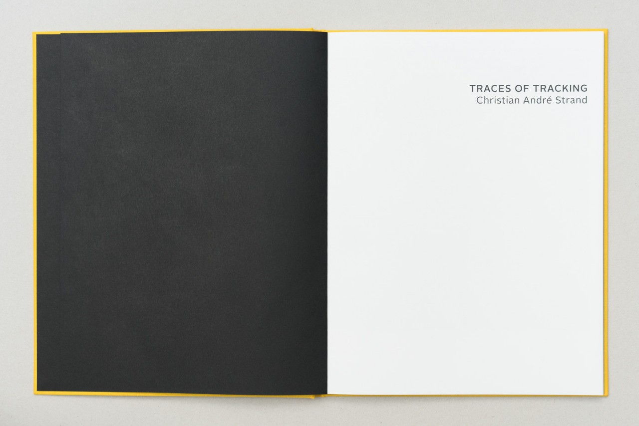 Christian André Strand Traces of tracking book 2018